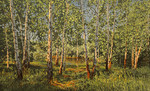 Adamow Alexis - 'Russian Birches'