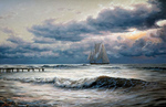 Adamow Alexis - 'Sea. Before Storm'