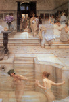 Alma-Tadema Lawrence - 'A Favorite Custom'
