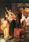 Alma-Tadema Lawrence - 'A Sculpture Gallery'
