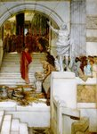Alma-Tadema Lawrence - 'After the Audience'