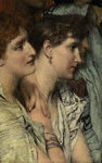 Alma-Tadema Lawrence  - 'An Audience'