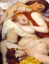 Alma-Tadema Lawrence - 'Exhausted Maenides after the Dance'