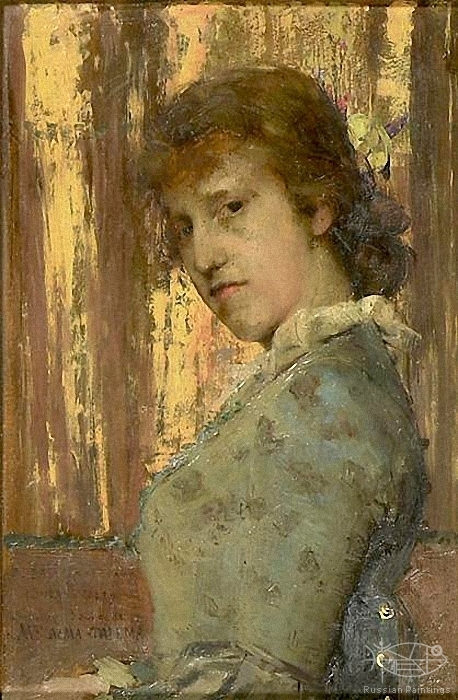Alma-Tadema Lawrence - 'Portrait of Laura Alma-Tadema'
