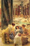 Alma-Tadema Lawrence  - 'The Baths of Caracalla'