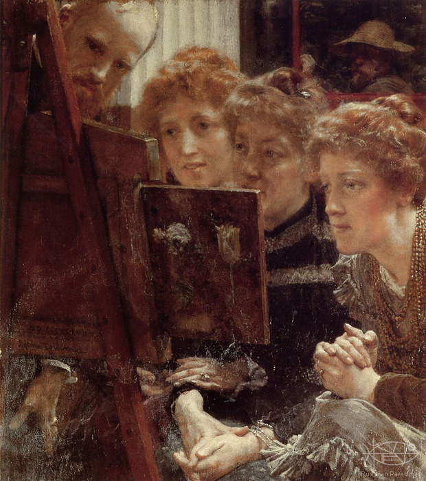 Alma-Tadema Lawrence - 'The Family Group'