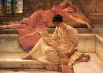 Alma-Tadema Lawrence  - 'The Favourite Poet'