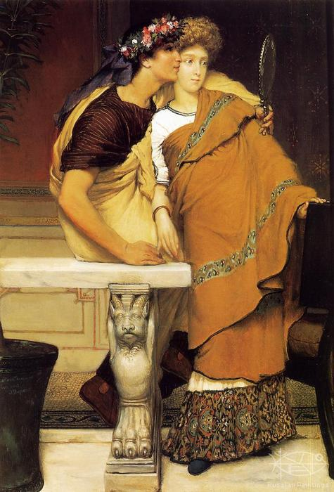 Alma-Tadema Lawrence - 'The Honeymoon'