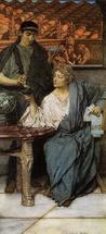 Alma-Tadema Lawrence - 'The Roman Wine Tasters'