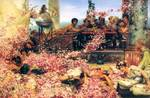 Alma-Tadema Lawrence - 'The Roses of Heliogabalus'