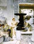 Alma-Tadema Lawrence  - 'The Sculpture Gallery'