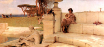 Alma-Tadema Lawrence - 'The Voice of Spring'