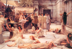 Alma-Tadema Lawrence - 'The Women of Amphissa'