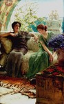 Alma-Tadema Lawrence  - 'Unwelcome Confidences'