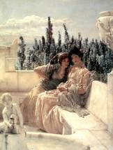 Alma-Tadema Lawrence - 'Whispering Noon'