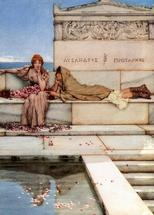 Alma-Tadema Lawrence - 'Xanthe and Phaon'