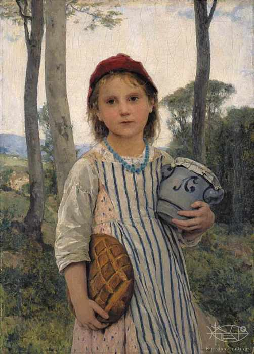 Anker Albert - 'Little Red Riding Hood'