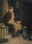 Anker Albert - 'Old Man Taking a Rest'