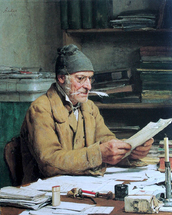Anker Albert - 'The Village Clerk'