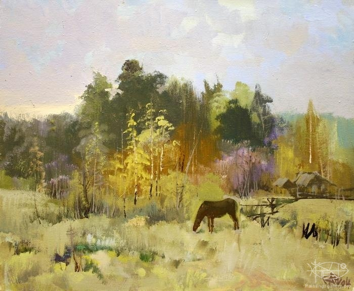 Antonov Nikolay - 'Autumn'