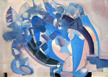 Antonov Nikolay - 'Blue Composition'