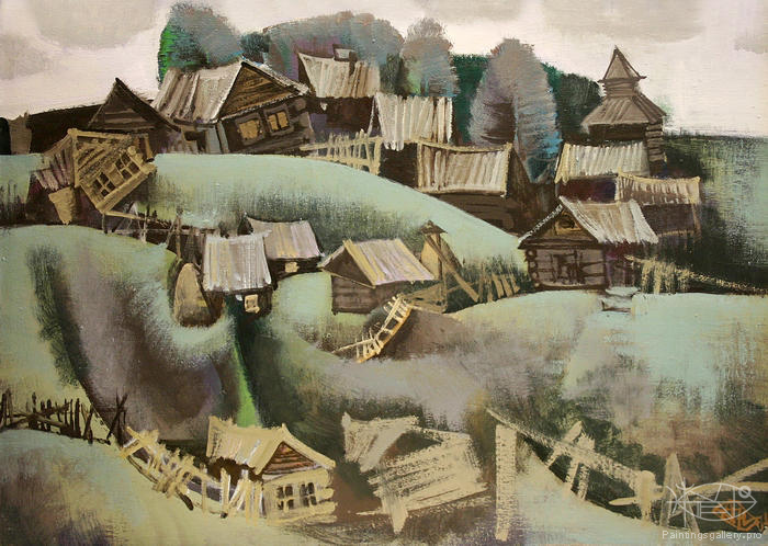 Antonov Nikolay - 'In Village'