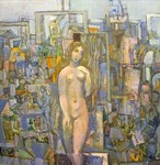 Antonov Nikolay - 'Painter and Model'