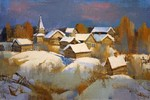 Antonov Nikolay - 'Winter Evening'