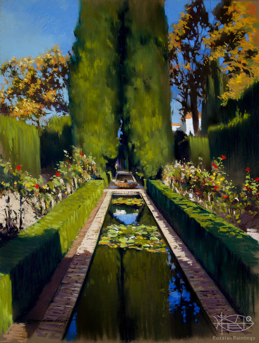 Aracil German - 'Garden of the Generalife'