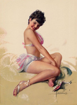 Armstrong Rolf  - 'Pin-up # 25'