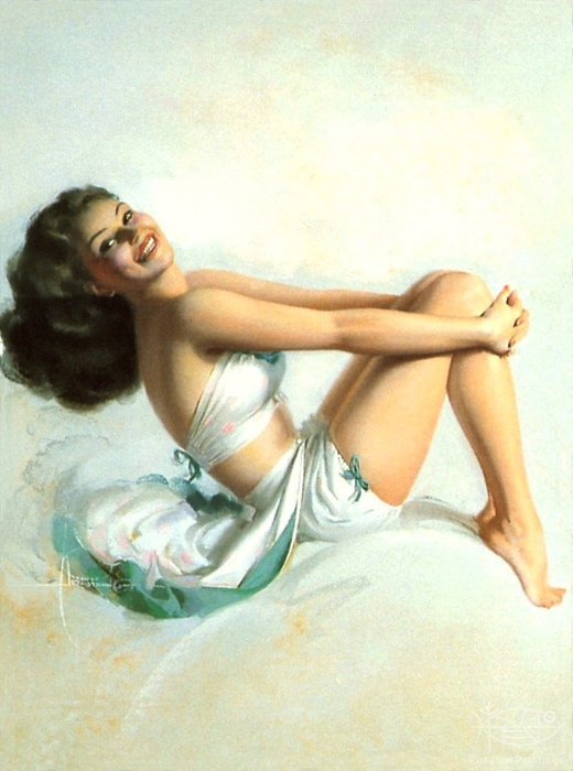 Armstrong Rolf - 'Pin-up # 26'