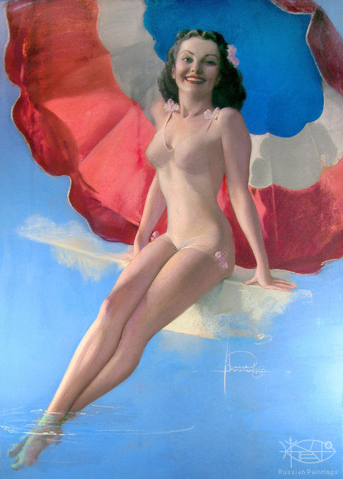 Armstrong Rolf - 'Pin-up # 31'
