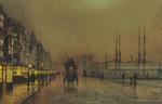 Atkinson John - 'Glasgow Docks'