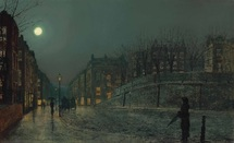 Atkinson John - 'Heath Street, Hampstead'