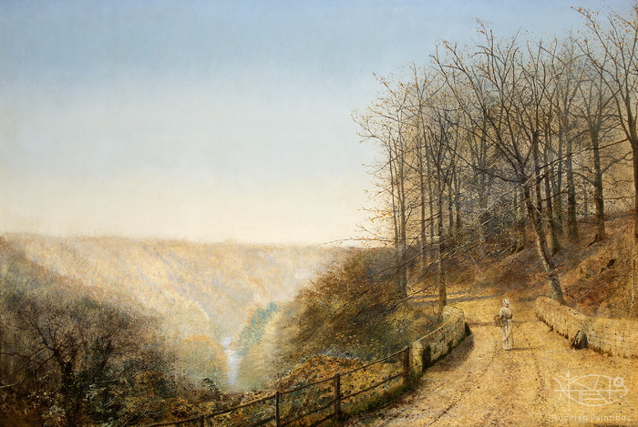 Atkinson John - 'Late Autumn on the Esk'