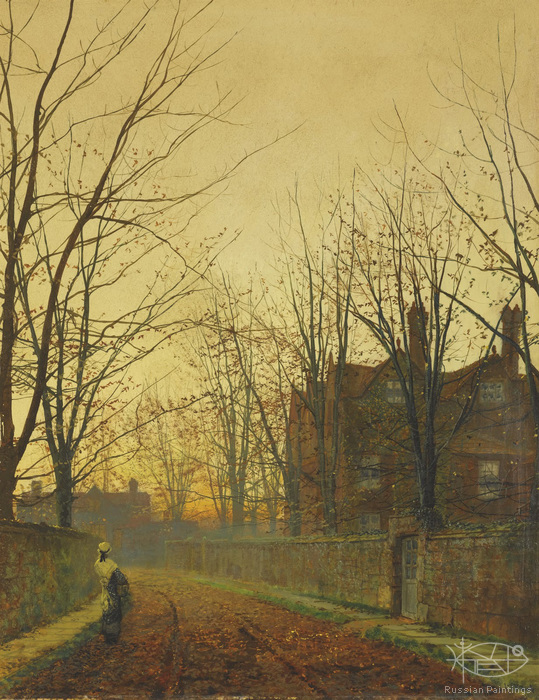 Atkinson John - 'Late October'
