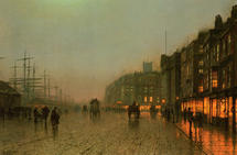 Atkinson John - 'Liverpool from Wapping'