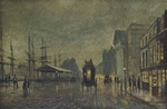 Atkinson John - 'Salthouse Docks, Liverpool'