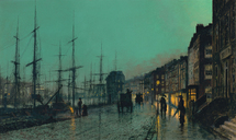 Atkinson John - 'Shipping on the Clyde'