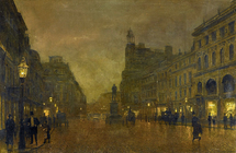 Atkinson John - 'St. Anne's Square, Manchester'