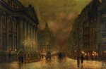 Atkinson John - 'The Mansion House, London'