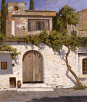 Avakimyan Oleg - 'Old Walls. The Crete Island'