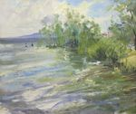 Badakva Valeriy - 'Overflow on the Volga River'