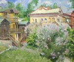 Badakva Valeriy  - 'Spring in Estate'