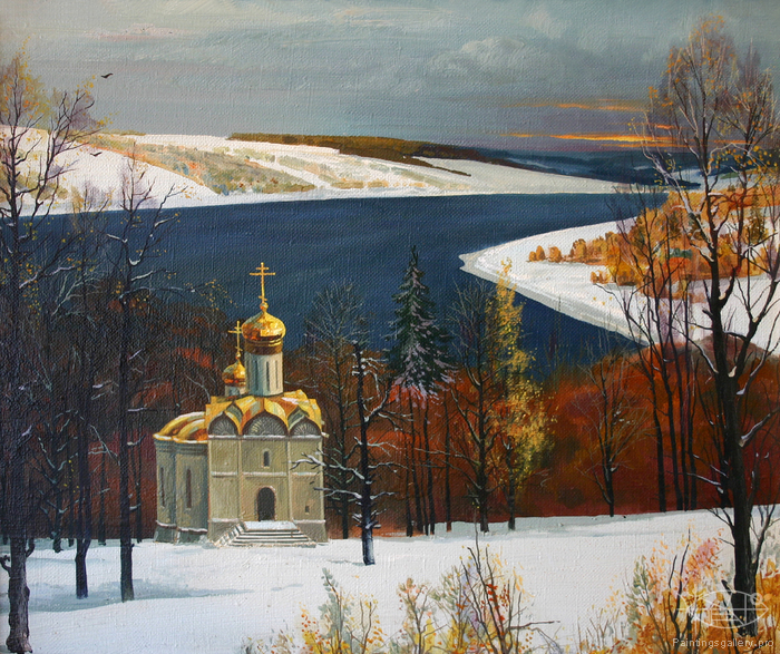 Baranov Maxim - 'The First Snow'