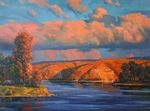 Baranov Pavel  - 'Autumn on the Volga River'