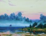 Baranov Pavel - 'Morning on the Volga River'
