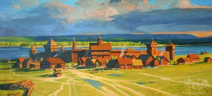 Baranov Pavel - 'The Old Samara City'