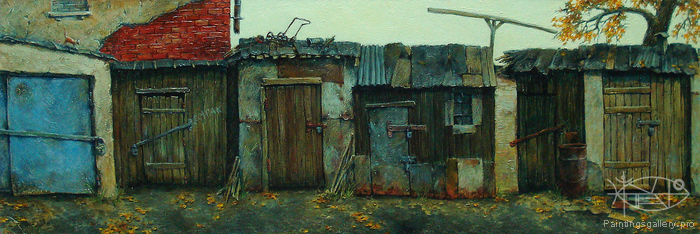 Beryezin Andrey - 'Yards of Our Childhood'
