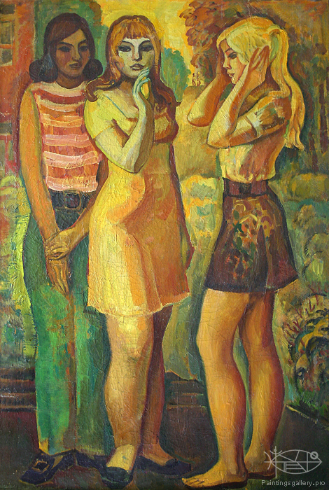 Bikulov Nurhatim Zarifovich - 'Girl-friends'